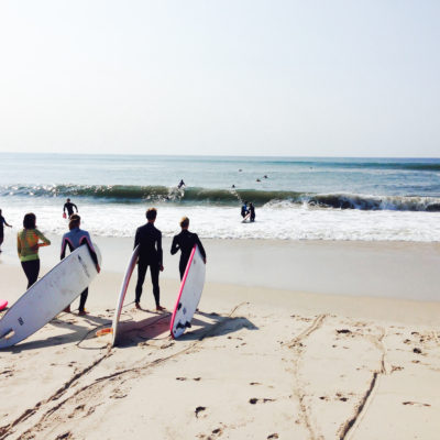 Flying point surf school 2014