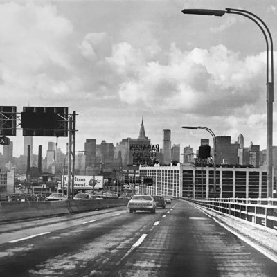 New York Skyline in the 80s